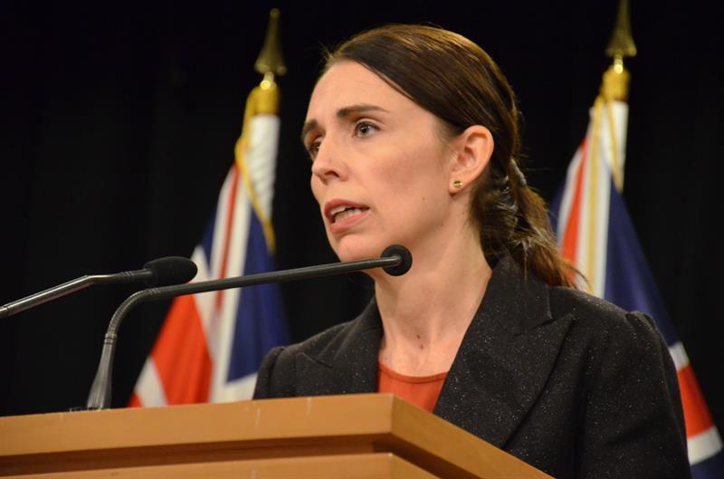 La primera ministra neozelandesa, Jacinda Ardern.