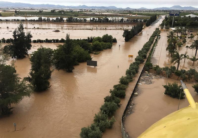 La localidad murciana de Los Alcázares donde el ayuntamiento ha ordenado este viernes el desalojo de la urbanización Bahía Bella, el barrio de la Fuensanta y la zona cero de las inundaciones de diciembre de 2016.