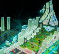Maqueta del proyecto definitivo de Madrid Nuevo Norte