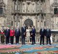Los Reyes visitan Santiago de Compostela