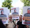 Manifestación negacionista de la Covid en Berlín