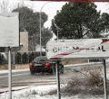 Imágenes de la nevada en Madrid, Ciudad Real...