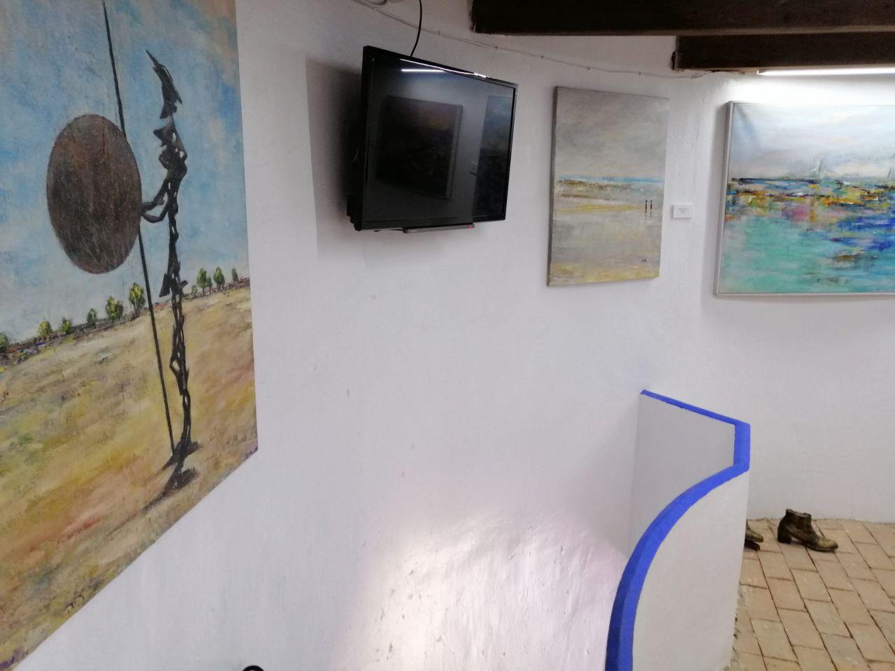 Exposición Caminando, de María José Bro Valero.