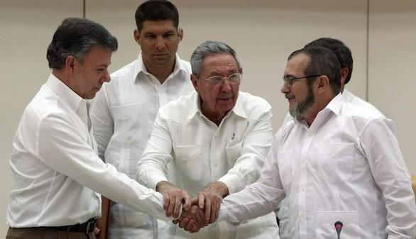 Guerrilla colombiana y tratados de impunidad