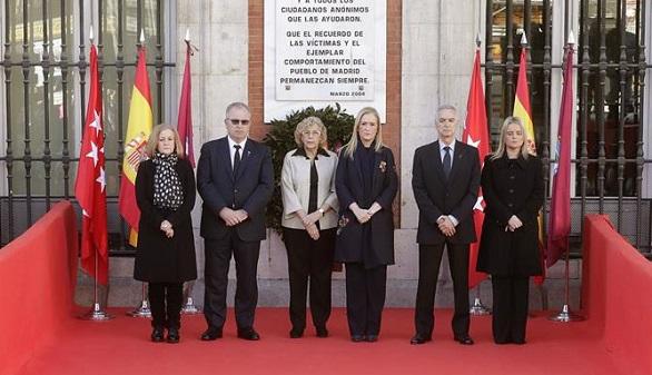 Madrid recuerda a los fallecidos del 11-M en el decimotercer aniversario