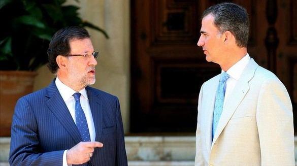 El Rey recibe este viernes a Rajoy en el tradicional despacho de verano