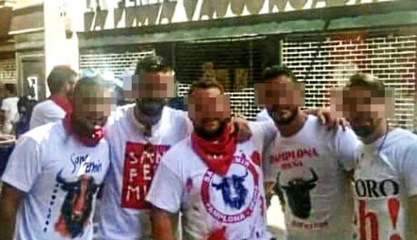 Los cinco acusados por la supuesta violación de Sanfermines se declaran inocentes