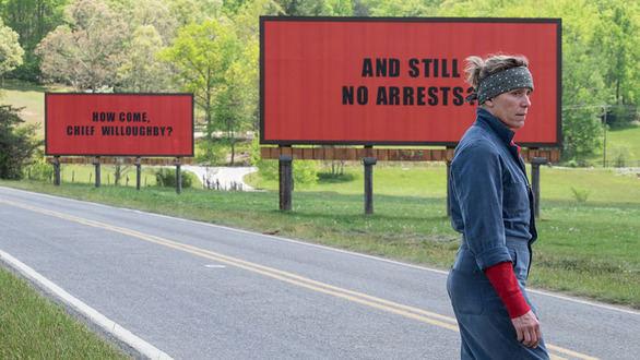 El público otorga su particular 'oscar' a Tres anuncios en las afueras