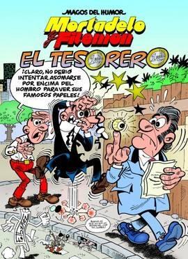 'El tesorero', el nuevo cómic de Mortadelo y Filemón. Foto: Ediciones B
