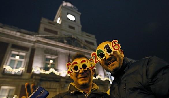 El mundo celebra el nuevo año cumpliendo tradiciones