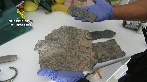 Desarticulada una organización dedicada a expoliar bienes arqueológicos
