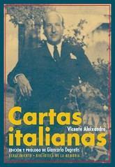 Vicente Aleixandre: Cartas italianas