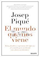 Josep Piqué: El mundo que nos viene