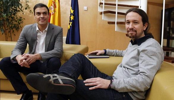 Sánchez e Iglesias retoman la búsqueda de acuerdos de Gobierno