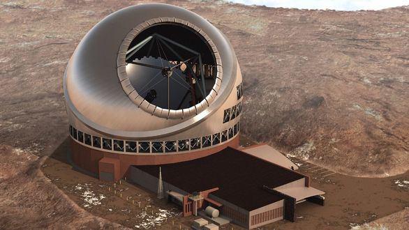 La Palma podría albergar el telescopio espacial de última generación TMT