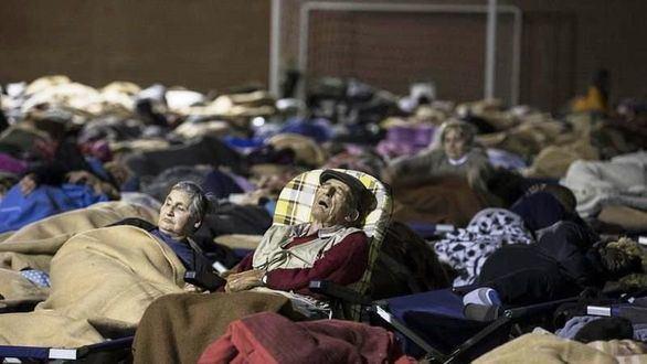 Italia tiembla: miles de evacuados por los seísmos esperan a ser realojados