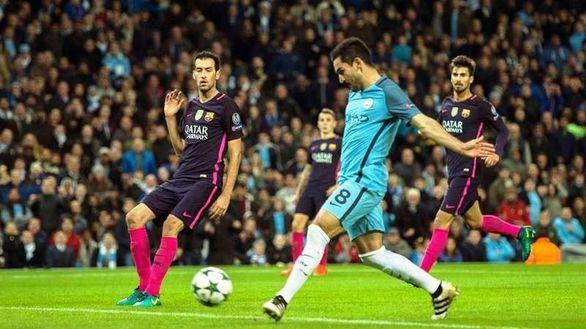 Bofetón del City de Guardiola al Barça  3-1