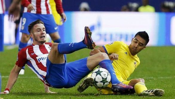 El Atlético aguanta y gana en el último suspiro  2-1