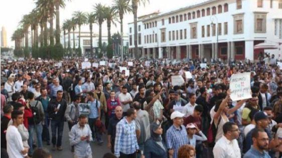 Multitudinarias manifestaciones en Marruecos tras la muerte de un joven