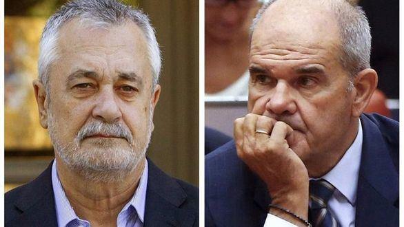 Caso de los ERE: el juez abre juicio oral contra Chaves y Griñán
