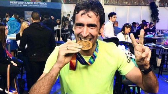 Raúl debuta en la marathon de Nueva York con un tiempo de 3h26:05