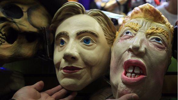 Las últimas encuestas mantienen la ventaja de Clinton