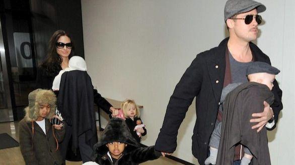 Angelina Jolie y Brad Pitt alcanzan un acuerdo sobre la custodia de los hijos