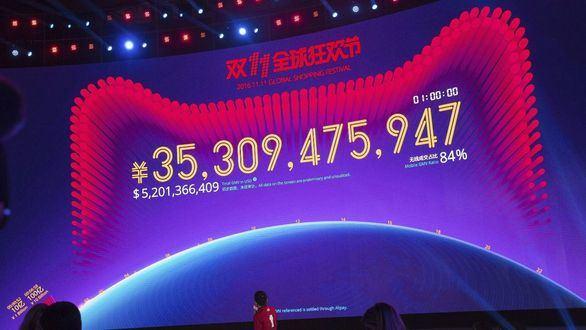 Festival de consumo de récord en el Día del Soltero en China