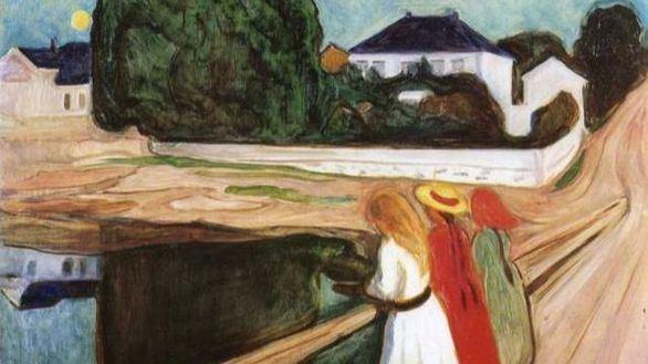 Munch vuelve a pulverizar una subasta, ahora con 'Girls on the Bridge'