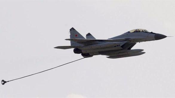 Un caza ruso se estrella en el Mediterráneo en un entrenamiento