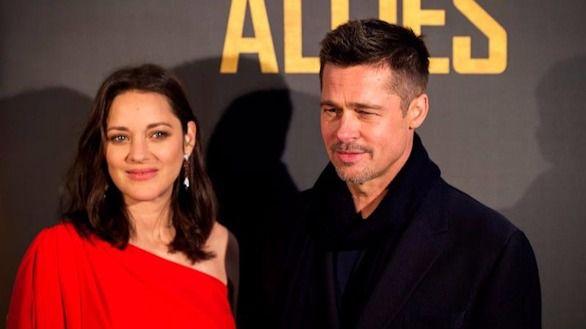 Brad Pitt y Marion Cotillard, juntos en Madrid para promocionar 'Aliados'