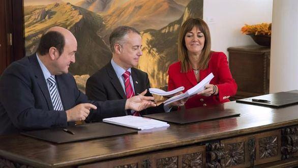 Los puntos negros del acuerdo entre PNV y PSE