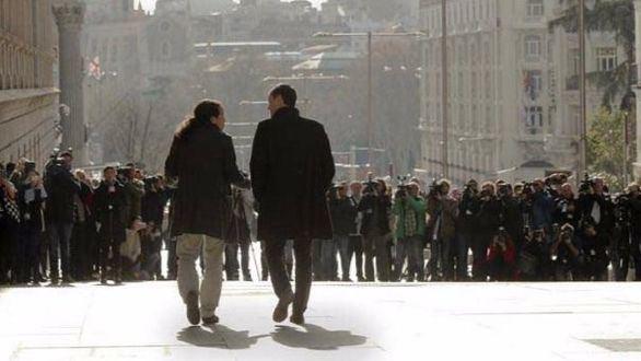 Iglesias y Sánchez luchan por ser el 'azote del Gobierno' 2016