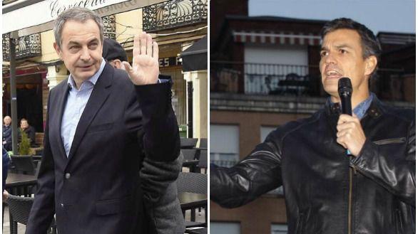 El PSOE lanza a Zapatero para hacer sombra a Sánchez