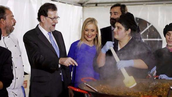 Rajoy, en una cena del PP: