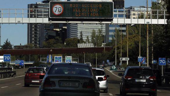 Madrid limita la velocidad en la M30 y otros accesos por contaminación