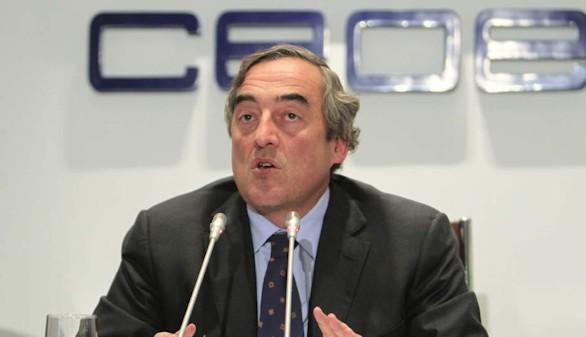 La CEOE propondrá un aumento salarial del 2 % ante los sindicatos