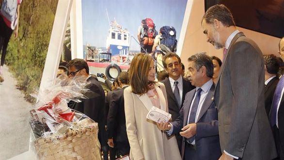Los Reyes inauguran Fitur, comprometido este año con el turismo sostenible