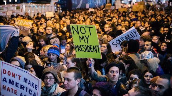 Ya son 217 detenidos por las protestas contra Trump en Washington
