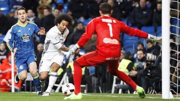Marcelo y Modric, bajas para Vigo