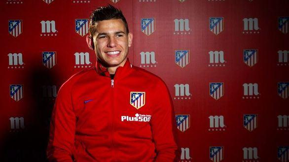 Detenido Lucas Hernández, jugador del Atlético, por pegar a su novia