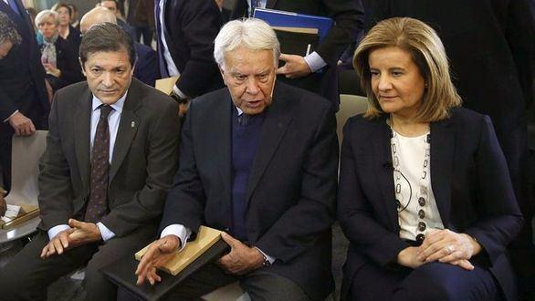 Felipe González: las pensiones no están garantizadas