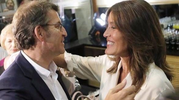 Alberto Núñez Feijóo y Eva Cárdenas dan la bienvenida a su primer hijo