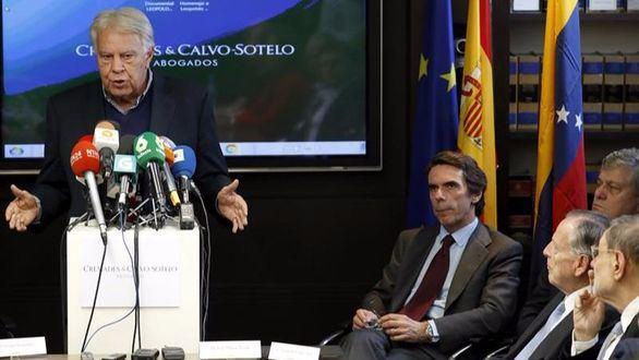 Aznar, González y Rivera apoyan a los presos políticos de la