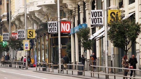 Carmena monta una consulta sobre la Plaza de España y la Gran Vía