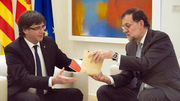Rajoy y Puigdemont se reunieron en secreto el 11 de enero