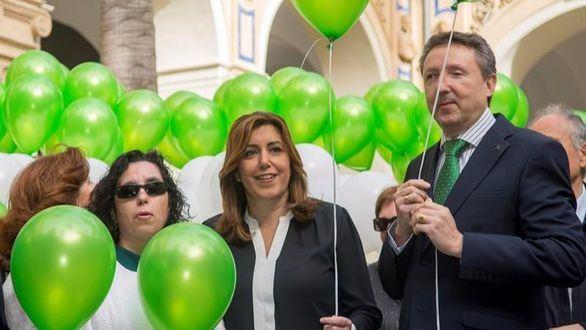 Díaz 'se viste' de líder e Iceta y Vara dan