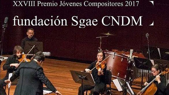 Fundación SGAE-CNDM: convocatoria del Premio Jóvenes Compositores