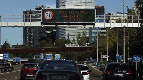 Activado el protocolo por alta contaminación en Madrid