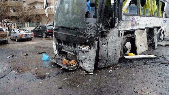Al menos 74 muertos en un doble atentado en Damasco